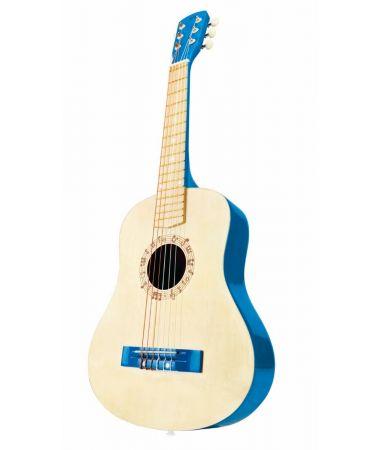 Chitarra in Legno Blu