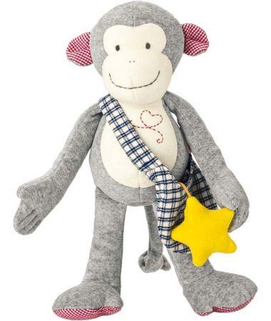 Scimmietta Carlo Soft Peluche 35 cm