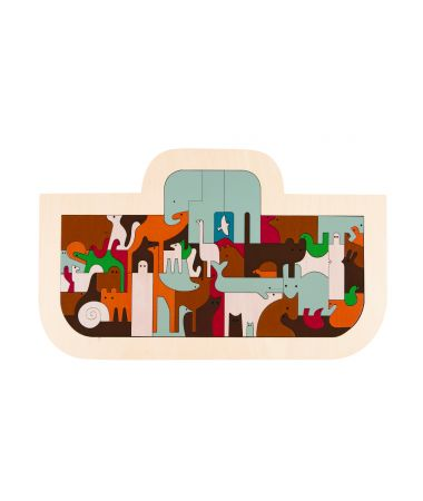 Puzzle legno Arca di Noè