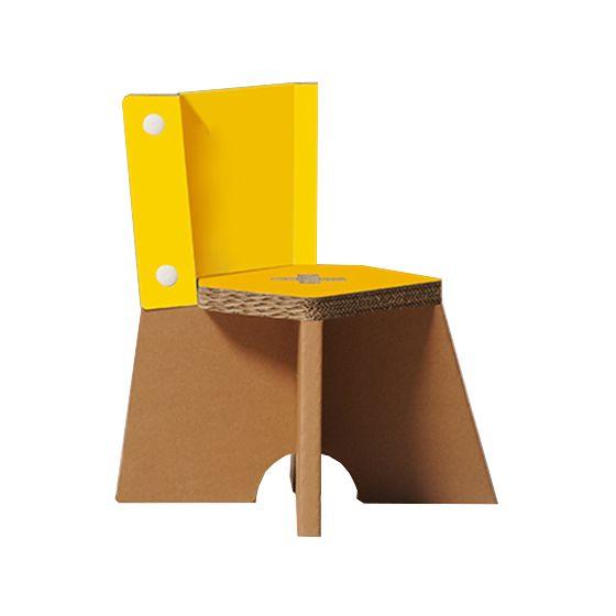 Sedia bambini juliet gialla for Sedia design gialla