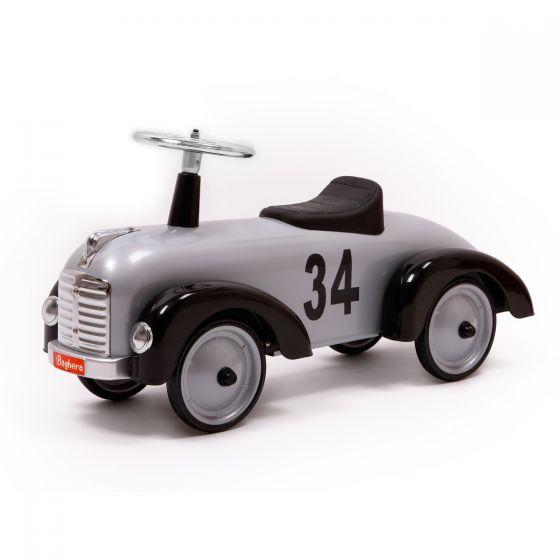 Auto d'epoca Cavalcabile Speedster Silver | Baghera auto per bambini