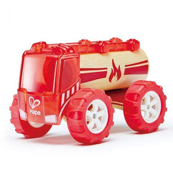 Camion dei pompieri Hape | Camion dei pompieri giocattolo | Camion dei pompieri per bambini