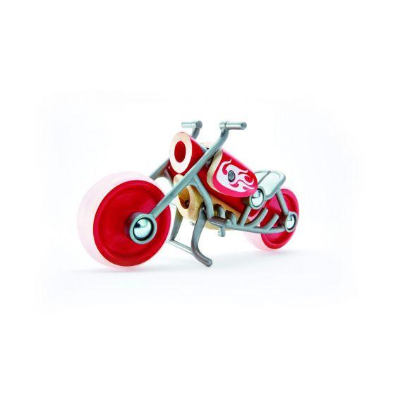 Motocicletta Bambù e-Chopper