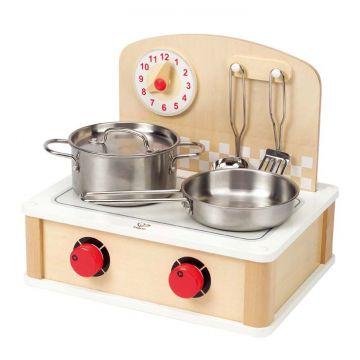 Cucina in legno portatile da Interno ed Esterno