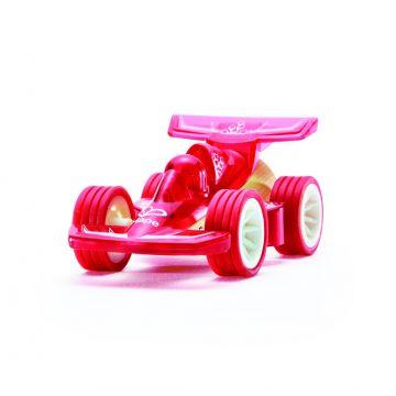 Macchinina Bambù Racer rossa